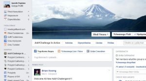 Update your status! Add1Challenge Facebook page