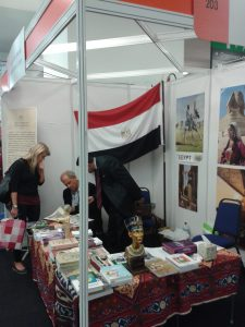 Egyptian Cultural Centre & Educational Bureau stand