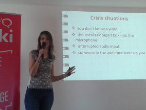 Lydia Machova: good in a crisis