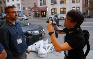 Filming Thomas