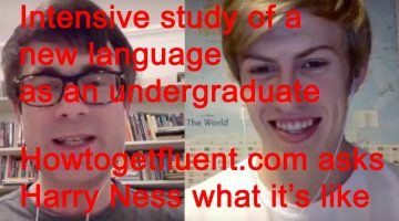 "Intensive study of a language from scratch (""ab initio"") at university.  What's it like?"