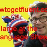 At large at Language Show Live (vlog)