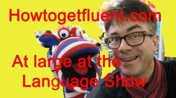 At large at Language Show Live (vlog)