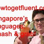"Singapore's languages: ""smash and grab"" (video)"