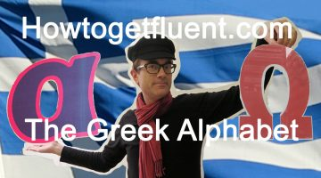 Alpha to omega: learning the Greek alphabet (video)