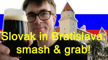 Trying to decipher Slovak and exploring the sights of Bratislava (with vlog)