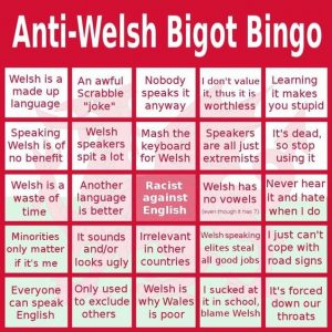 Support Welsh speakers with humour
