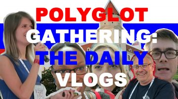 Polyglot Gathering 2018: the daily vlogs