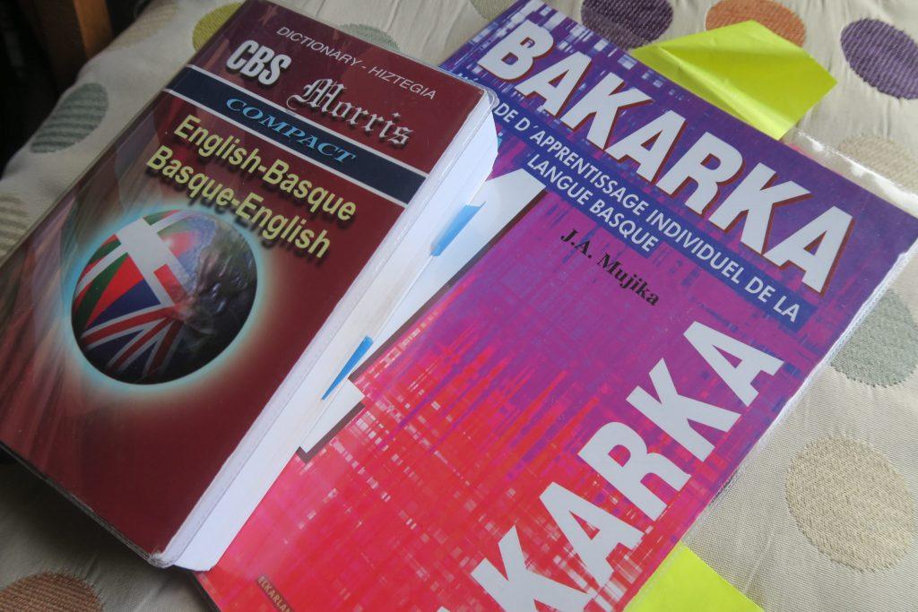 The Bakarka Basque textbook teaches Batua or unified Basque
