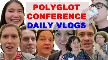 Polyglot Conference Daily Vlogs (updated)