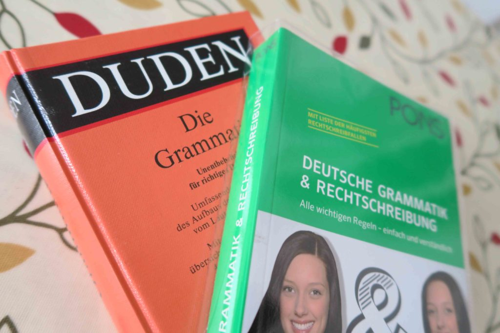 German grammar books
