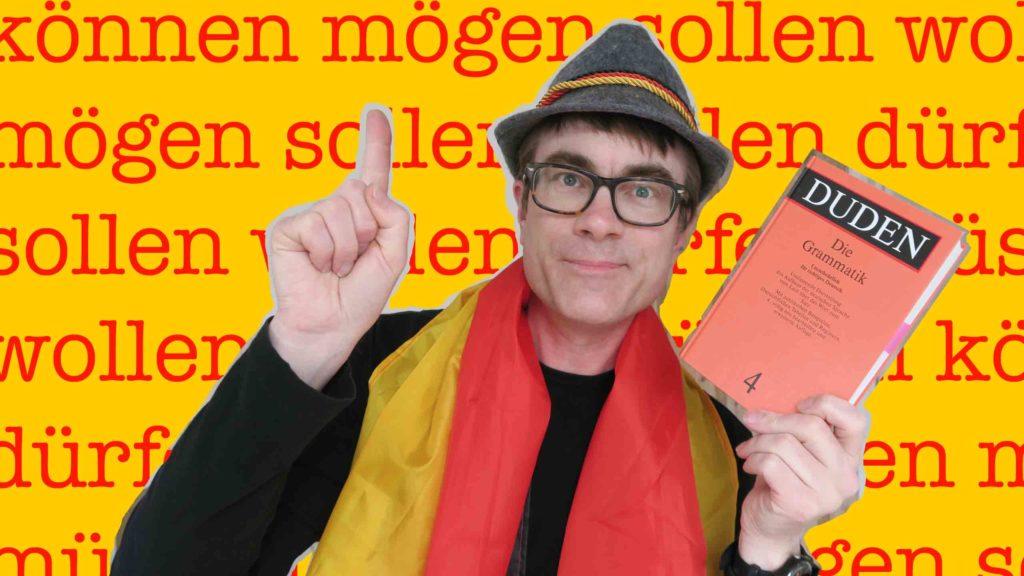 Dr Popkins explores modal verbs in German
