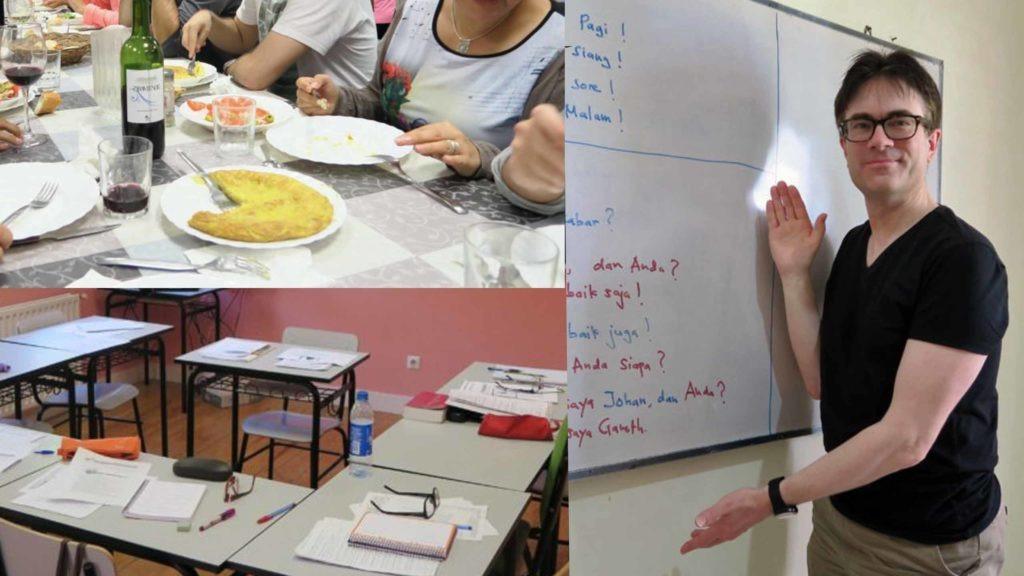 Summer language school abroad