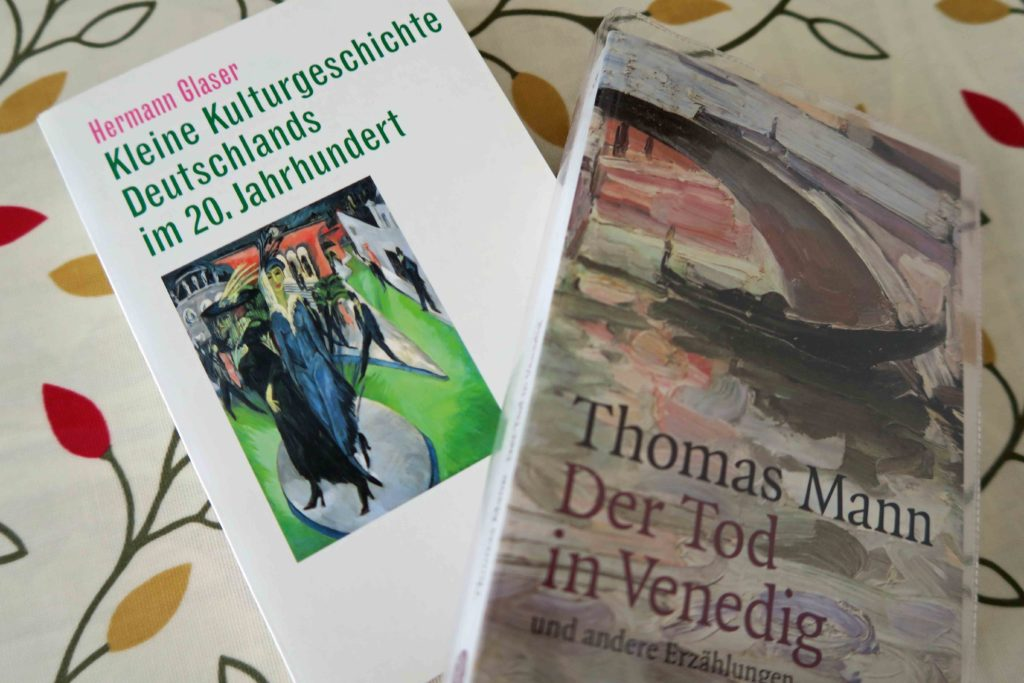 Reading about literature or reading literature? Hermann Galser Kleiner Kulturgeschichte Deutschlands Thomas Mann Der Tod in Venedig