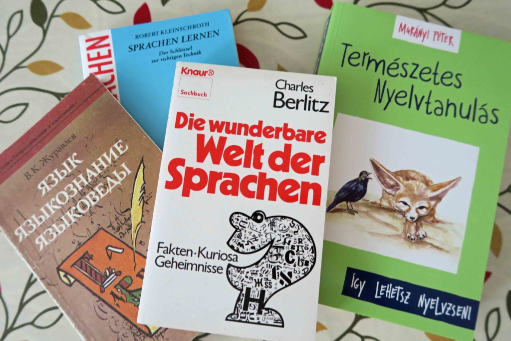 Books about language learning...In foreign languages