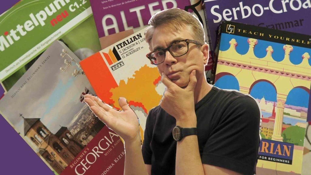 Lots of language textbooks