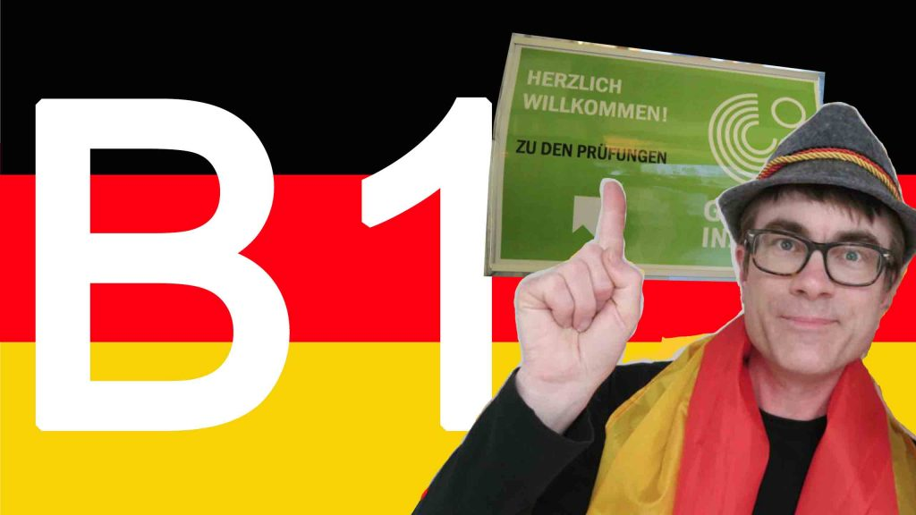 Dr P points the way to the Goethe-Institut German B1 exam