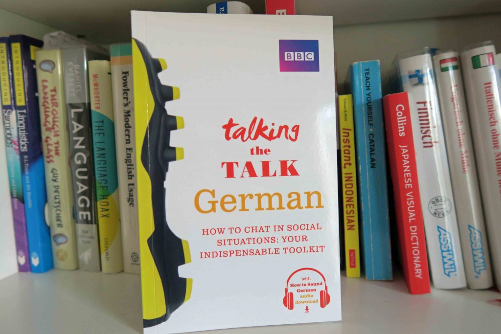 BBC Talking the Talk German and other language learning books