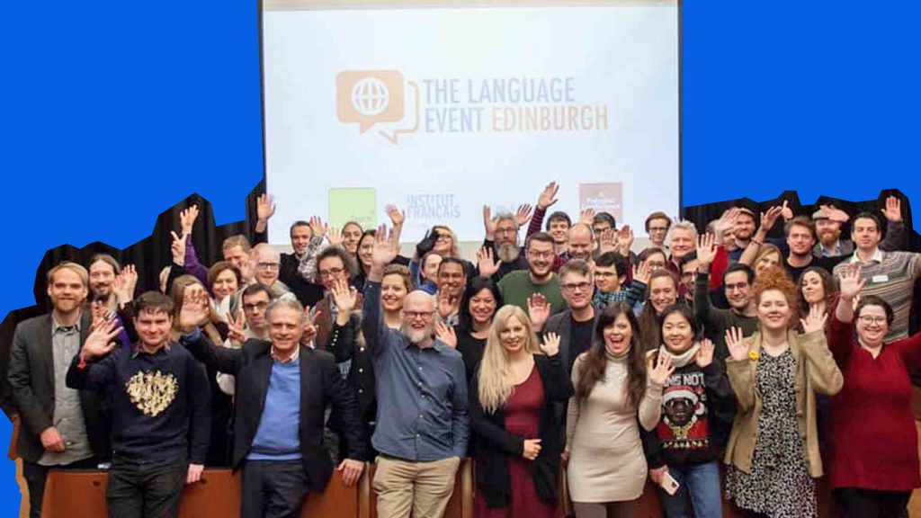 The Language Event Edinburgh group photo