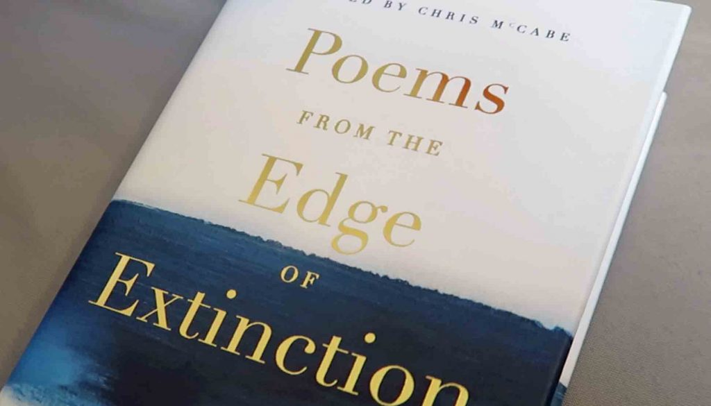 Chris Mc Cabe at the Language Event: Edinburgh discussed his edited volume Poems from the Edge of Extinction