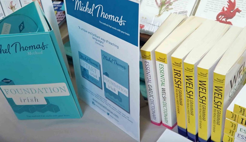 Michel Thomas Foundation Irish and Teach Yourself Welsh Irish and Gaelic books