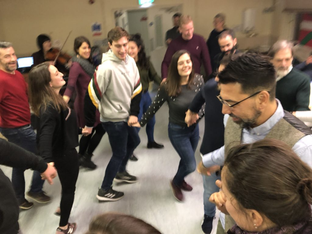 Getting active as I learn Basque - traditional dancing at the London Basque Society