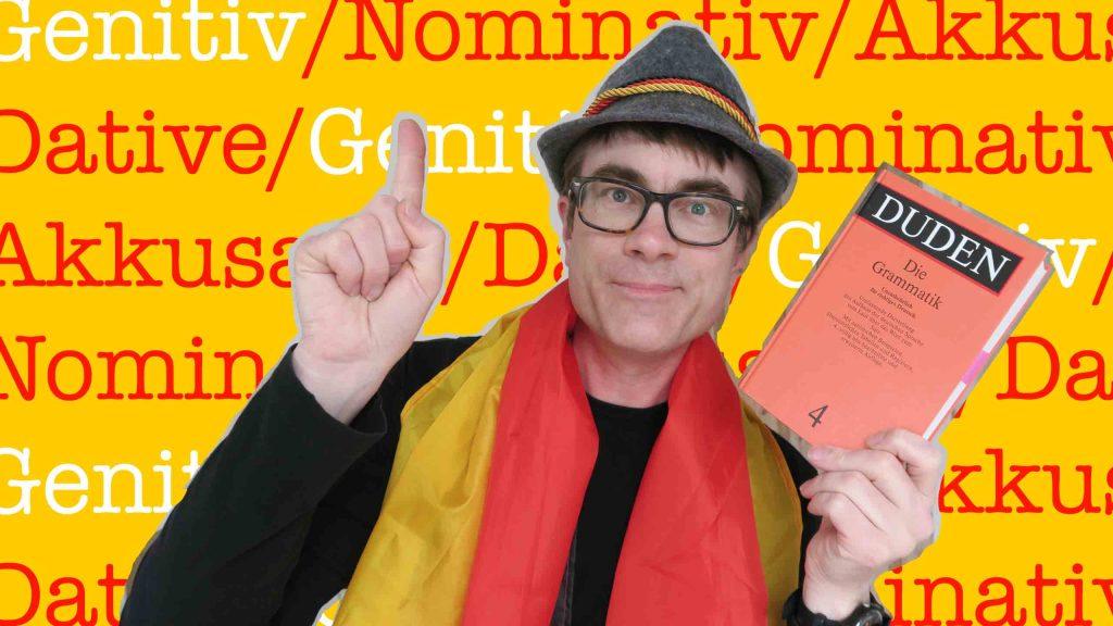 Learning the German genitive case with Duden's die Grammatik