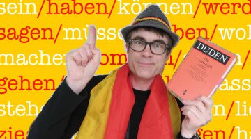 Dr P tackles the most common German verbs