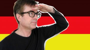 Dr P searches for the German future tense